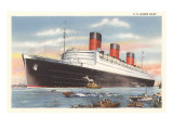 Ocean Liner SS Queen Mary Prints