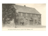 Old Quaker Meeting House, Pawling, New York Print