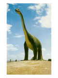 Cement Brontosaurus Posters