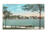 Colonial Lake, Charleston, South Carolina Prints