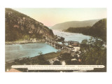 Potomac and Shenandoah Rivers, Harper's Ferry, West Virginia Prints