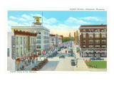 Capitol Avenue, Cheyenne, Wyoming Prints