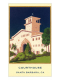 Courthouse, Santa Barbara, California Art