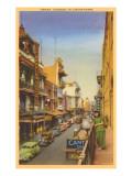 Grant Avenue, Chinatown, San Francisco, California Prints