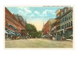 Main Street, Brattleboro, Vermont Prints