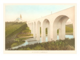 Cabrillo Bridge, Balboa Park, San Diego, California Prints