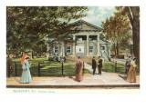 Redwood Library, Newport, Rhode Island Poster