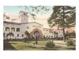 Courthouse, Santa Barbara, California Posters