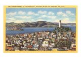 Coit Memorial Tower, Telegraph Hill, San Francisco, California Plakater