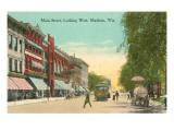 Main Street, Madison, Wisconsin Prints