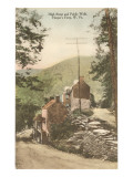 High Street and Public Walk, Harper's Ferry, West Virginia Poster