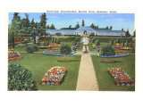 Municipal Greenhouses, Spokane, Washington Prints