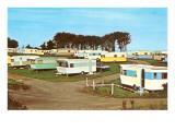 Campingplats Posters