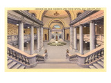 Interior, State Capitol, Salt Lake City, Utah Prints