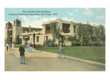 New Mexico Building, San Diego Exposition Prints
