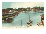 Mouth of the Pawtuxet River, Pawtuxet, Rhode Island Prints