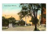 Grand Avenue, Milwaukee, Wisconsin Poster