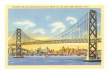 San Francisco-Oakland Bay Bridge, California Posters