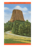 Devil's Tower, Wyoming Prints