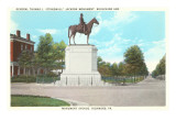 Stonewall Jackson Monument, Richmond, Virginia Prints