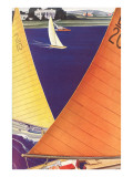 Yacht Race, Graphics Prints
