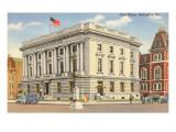Post Office, Burlington, Vermont Prints