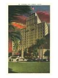 El Cortez Hotel, San Diego, California Prints