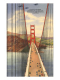 Golden Gate Bridge with Planes, San Francisco, California Prints