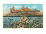 Saltair Pavilion, Great Salt Lake, Utah Prints