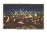 Night, View over San Francisco, California Art