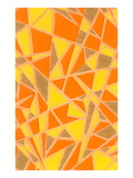 Vintage Paper, Abstract Geometric Pattern Posters
