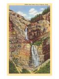 Bridal Veil Falls, Provo Canyon, Utah Prints