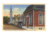 Princess Anne Street, Fredericksburg, Virginia Poster