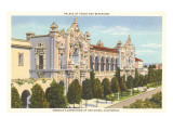 Casa del Prado, Balboa Park, San Diego, California Print