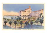 La Valencia Hotel, La Jolla, California Prints