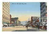 Main Street, Salt Lake City, Utah Prints