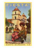 Poster for Fiesta Days, Santa Barbara, California Print