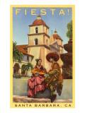 Poster for Fiesta Days, Santa Barbara, California Poster