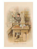 Thomas Edison in his Laboratory Prints