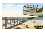 Pleasure Pier, Oceanside, California Prints