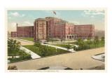 Western Pennsylvania Hospital, Pittsburgh, Pennsylvania Prints