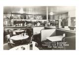 Interior, Scotty's Manger, Retro Diner, Photo Art