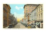 East Broad Street, Charleston, South Carolina Poster