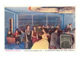 Sky Room, El Cortez Hotel, San Diego, California Print