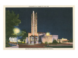 Standard Oil Tower, World's Fair, San Diego, California Posters