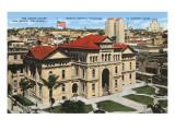 Old Courthouse, San Diego, California Prints