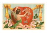 To My Valentine, Cupid Repairing Heart Art