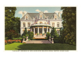 Astor Residence, Newport, Rhode Island Poster