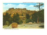 Vedauwoo Glen, Laramie, Wyoming Poster