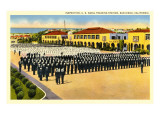 Inspection, Naval Training Station, San Diego, California Art